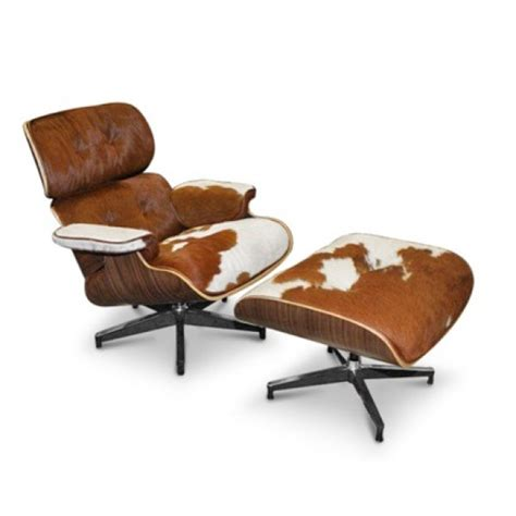Eames Chair And Stool by Eames Chair Stool Hide Replica Brw