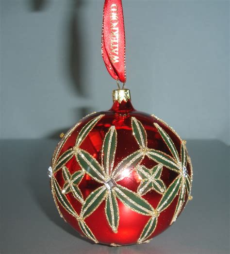 waterford mini heirloom ornaments waterford lismore heirlooms 4 quot ornament handmade 40001067 new ebay