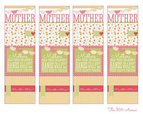 printable bookmarks mother s day 7 best images of free printable christian mother s day