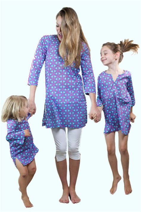 pattern matching clothes mommy and me tunics 21 patterns matching family