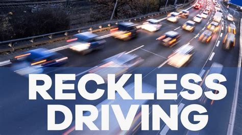 Dangerous Driving Criminal Record Reckless Driving Henrico Hanover Chesterfield And Richmond Jurach Tacey
