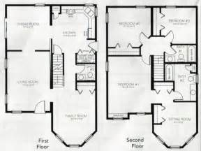 two story home floor plans 4 bedroom 2 story house plans 2 story master bedroom two