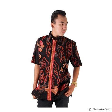 Hem Batik Pria Wajik Hitam jual ebatiktrusmi hem batik pria megamendung lengkong cirebon size xl hitam murah bhinneka