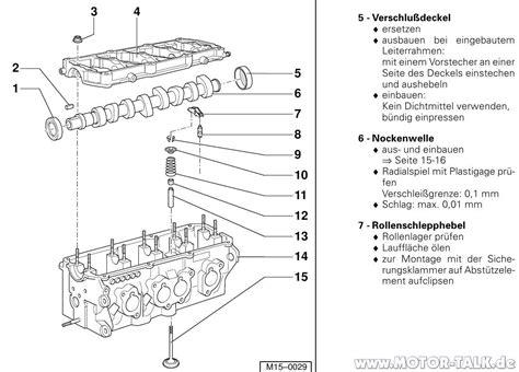 Reparaturanleitung Audi A4 B5 Pdf by Zylinderkopf Alt Motor Klackern Bei Kaltstart A4 1 8t