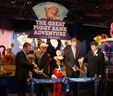 the great piggy bank adventure the great piggy bank adventure grand opening at epcot
