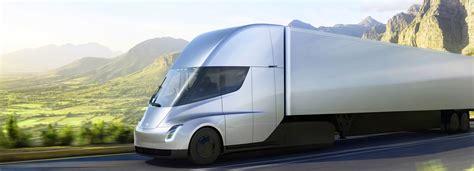 electric semi truck elon musk unveils the electric autopilot enhanced tesla