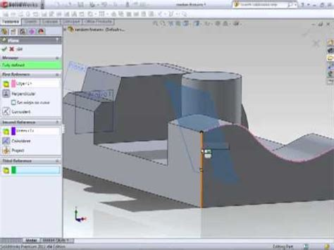 solidworks tutorial youtube 2011 solidworks 2011 tutorial creating planes youtube