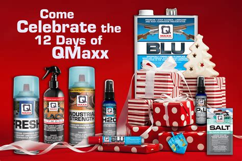 celebrate the 12 days of qmaxx for the gifts that keep