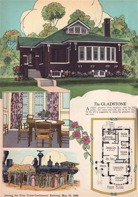 chicago bungalow house plans 1925 chicago style brick bungalow american residential architecture 1920s house plans the