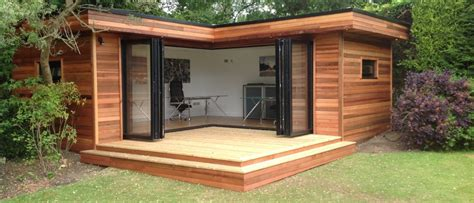L Shaped Houses by Home Contemporary Garden Rooms Garden Room Garden