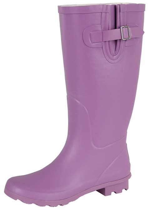 wide calf knee length wellington snow boots