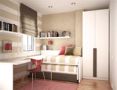 house ideas on small rooms space saving