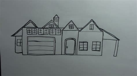 how to draw houses how to draw houses and buildings how to draw faster