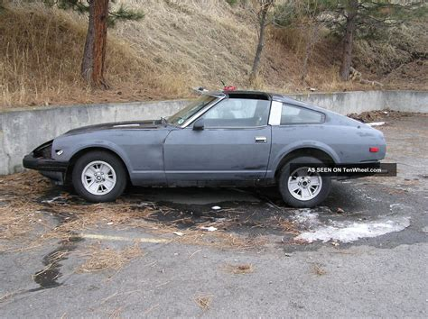 1982 nissan 280zx 1982 nissan 280zx base coupe 2 door 2 8l