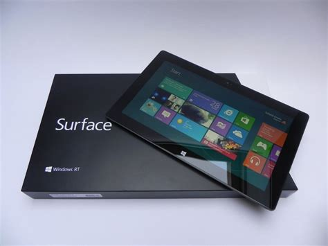 Microsoft Surface Rt microsoft surface rt unboxing minimalistic packaging maximal surface tablet news
