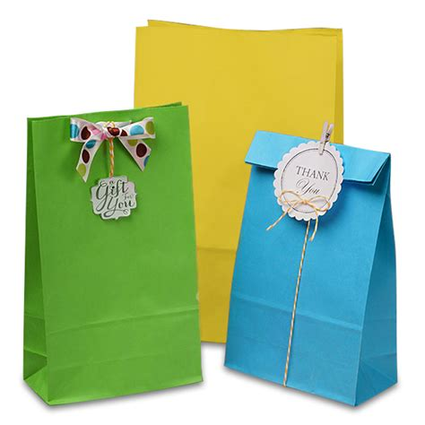 colored paper bags matte colored sos bags