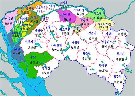 파일:Dongguan-map.png - 위키백과, 우리 모두의 백과사전