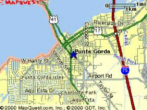 map of florida punta gorda punta gorda florida map