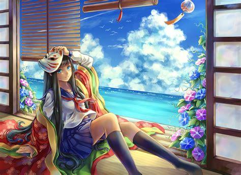 wallpaper girl school wallpaper anime girl school girl hd anime 3909