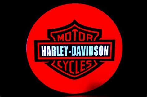 harley davidson neon light harley davidson hd motorcycle dealer neon light bo neon