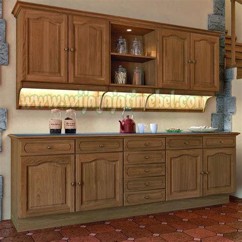 Lemari Dapur Jepara lemari dapur modern jual kitchen set harga per meter produk jepara wijaya jati mebel