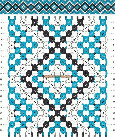 x pattern in c normal pattern 9398 added by kotinkandy brazaletes
