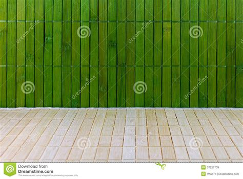 Raffia Floor Mats by Wall And Floor Of A Straw Mat Royalty Free Stock Images