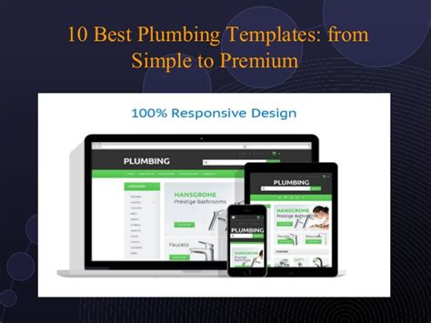 10 best plumbing website templates