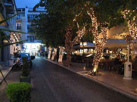 christmas decoration in greece athens photo gallery picture of plaka at
