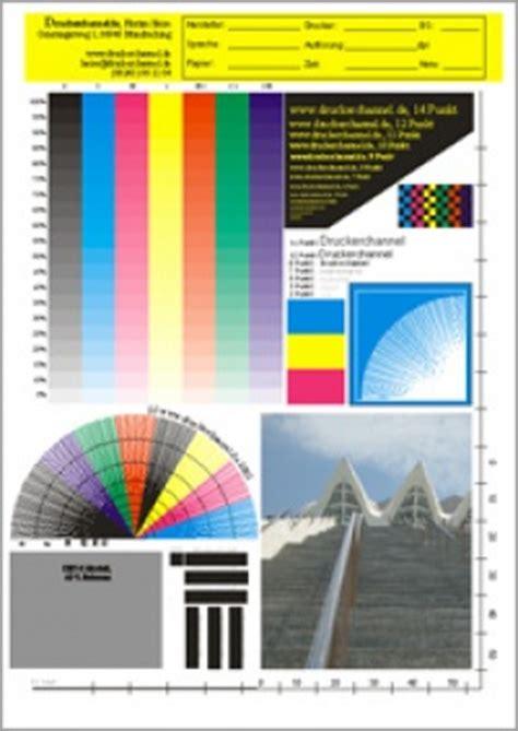 Dc Testdokumente Die Druckerchannel Testdateien Color Printer Hp L