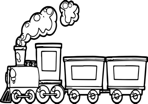 funny cartoon train coloring page wecoloringpage
