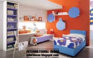 Modern kids room color schemes red kids room color schemes