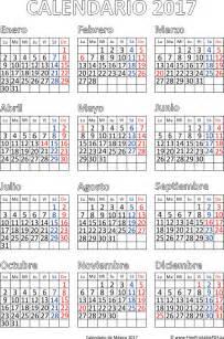 Descargar Calendario Enero 2017 Calendario De M 233 Xico 2017 Imprimir El Pdf Gratis