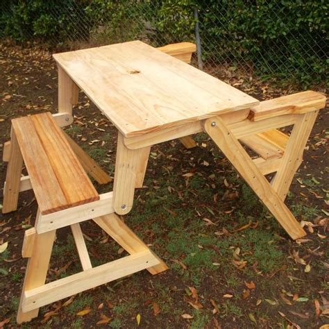 how to build a compact folding picnic table folding picnic tables pinterest folding picnic