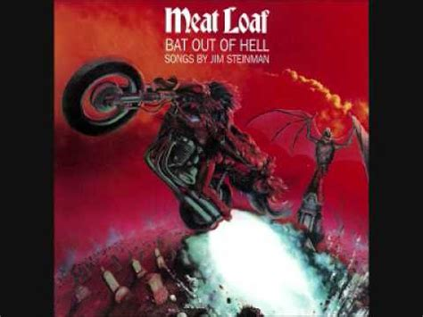 Paradise By The Dashboard Light Meatloaf by Bat Out Of Hell Loaf Vagalume