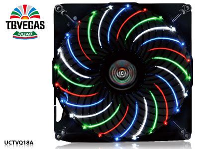Enermax Tb Vegas 18cm Circular 4 Color Led Uctvq18a enermax introduces 18 20 cm t b apollish and t b vegas fans techpowerup forums