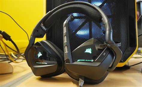 Headset Gaming Corsair Void Rgb Usb Gaming Headset Diskon corsair void usb rgb 7 1 gaming headset black
