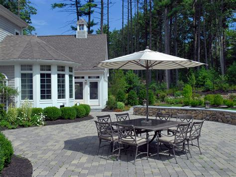 patio backyard design paver patios hgtv