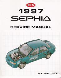 free service manuals online 1994 kia sephia auto manual 1997 kia sephia factory service manual 2 volume set
