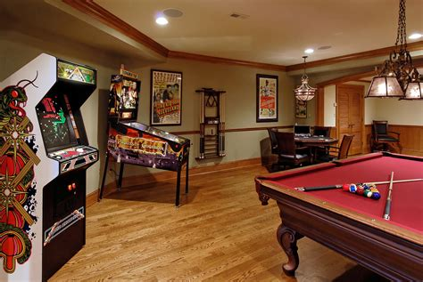 Gaming Room Decor Multi Space Renovation In Potomac Maryland Bowa