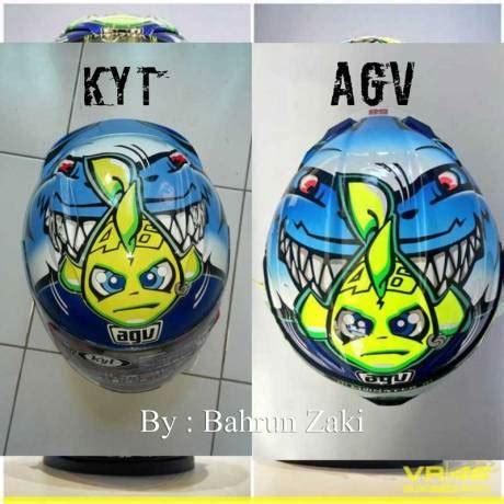 Helm Kyt Rc7 pertamax7 modifikasi helm kyt rc7 ala hiu agv special misano 2015 cakep modal rp 200 rebu