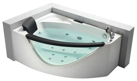 clear bathtubs for sale eago am198 r 5 right drain rounded clear modern corner