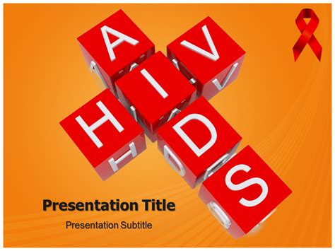 Aids Template hiv powerpoint templates powerpoint presentation on hiv template ppt background on hiv