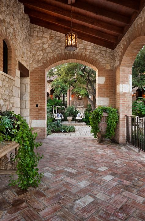 7 Of The Best Flooring Trends To Try In 2014 Mediterranean Patio Design