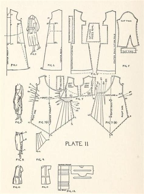 clothes pattern definition 548 best images about pattern drafts on pinterest 1920s