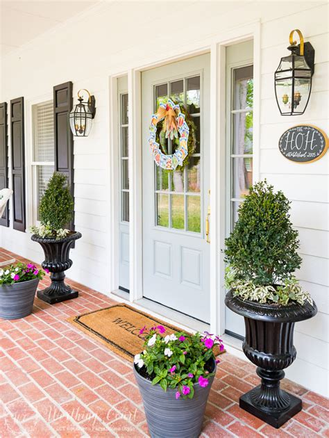 planters for front porch farmhouse front entry and easy planters worthing court