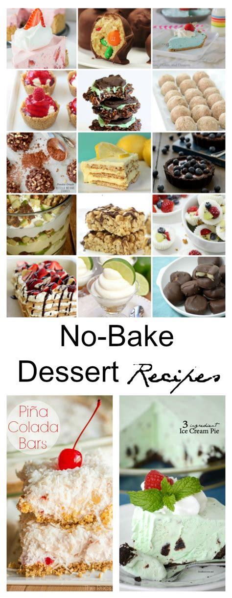 no bake dessert recipes the idea room