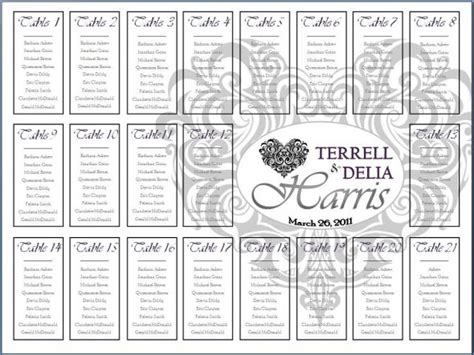 wedding ceremony seating chart template seating chart try weddingbee photo gallery