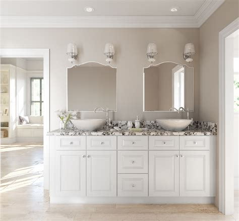 lakewood white ready  assemble bathroom vanities cabinets