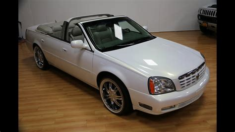 Cadillac Dts Convertible by Review Of 2005 Cadillac Dts Convertible For Sale Custom